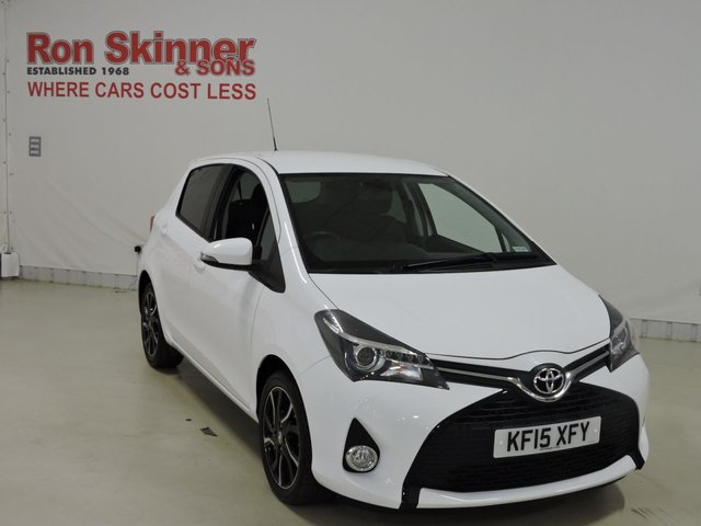 View our 2015 15 TOYOTA YARIS 1.3 VVT-I SPORT 5d 99 BHP
