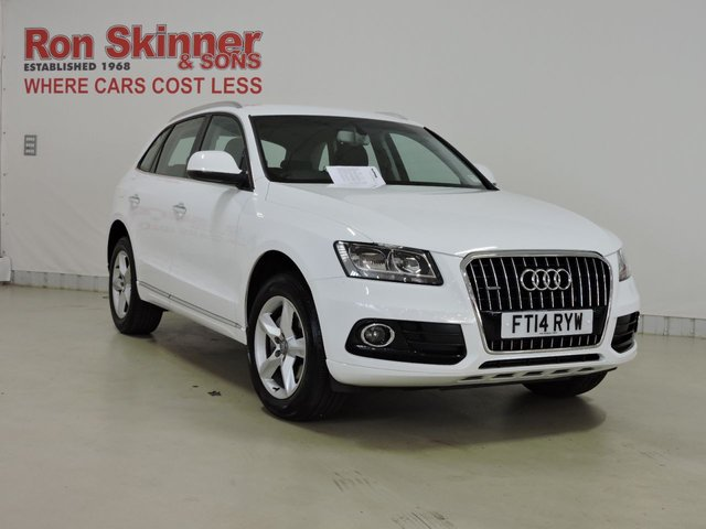 View our 2014 14 AUDI Q5 (97)  2.0 TDI QUATTRO SE START/STOP 5d 148 BHP