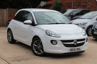 USED 2014 14 VAUXHALL ADAM 1.2 JAM 3d 69 BHP * LOW MILEAGE * ONE PREVIOUS OWNER *