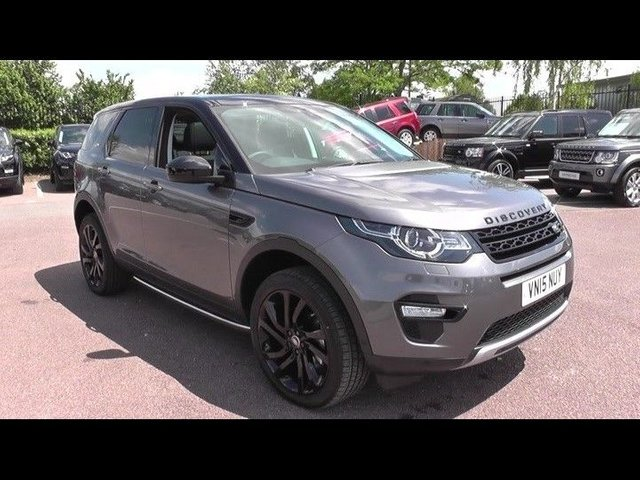 2015 15 LAND ROVER DISCOVERY SPORT 2.2 SD4 HSE LUXURY 5d AUTO 190 BHP