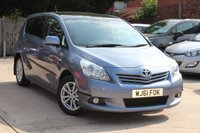 USED 2011 61 TOYOTA VERSO 1.6 TR VALVEMATIC 5d 130 BHP * LOW MILEAGE * PARKING SENSORS (REAR)*