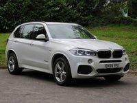 USED 2015 65 BMW X5 3.0 XDRIVE30D M SPORT 5d AUTO 255 BHP FULL BMW SERVICE HISTORY! VAT QUALIFYING!!