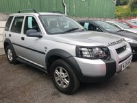 USED 2004 LAND ROVER FREELANDER 1.8 freelander petrol s  ONE OWNER FROM NEW / FULL SERVICE HISTORY