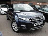 2013 LAND ROVER RANGE ROVER EVOQUE 2.2 TD4 PURE TECH 5d 150 BHP £15480.00