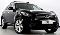 USED 2014 14 INFINITI QX70 3.0 TD GT AWD 5dr Auto Sunroof, Reverse Cam, Sat Nav