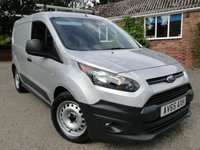 2016 FORD TRANSIT CONNECT 1.5 TDCI ECONETIC L1 200 Air Con / Euro 6 £9295.00