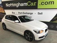 2013 BMW 1 SERIES 2.0 116D SPORT 5d AUTO 114 BHP £10995.00