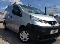 2016 NISSAN NV200 1.5 DCI ACENTA 90 BHP 1 OWNER FSH AIR CON £8900.00