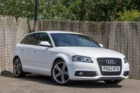 2012 AUDI A3 2.0 SPORTBACK TDI S LINE SPECIAL EDITION 5d AUTO 138 BHP £10250.00