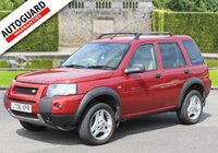 USED 2006 06 LAND ROVER FREELANDER 2.0 TD4 FREESTYLE 5d 110 BHP