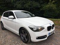 2014 BMW 1 SERIES 1.6 116I SPORT 5d 135 BHP £11275.00