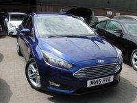 2015 FORD FOCUS 1.0 ZETEC 5d 124 BHP £6499.00