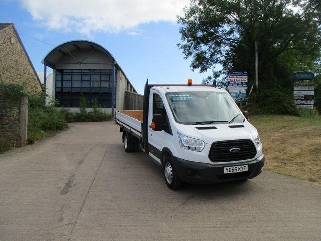 2015 65 FORD TRANSIT 2.2 TDCi 125ps Heavy Duty XLWB DROPSIDE L4