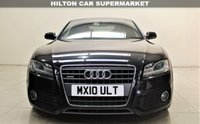 USED 2010 10 AUDI A5 2.0 TDI QUATTRO S LINE 2d 168 BHP + TOP SPEC WITH ALL THE EXTRAS