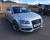 USED 2012 61 AUDI A3 2.0 SPORTBACK TDI S LINE SPECIAL EDITION 5d 138 BHP