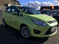 USED 2011 11 FORD C-MAX 1.6 TITANIUM 5d 148 BHP AS ALWAYS ALL CARS FROM EDINBURGH CAR STORE COME WITH 1 YEARS FULL MOT ,1 FULL RAC INSPECTION SERVICE AND 6 MONTH RAC WARRANTY INCLUDING  12 MONTHS RAC BREAKDOWN RECOVERY FREE OF CHARGE!      PLEASE CALL IF YOU DONT SEE WHAT YOUR LOOKING FOR AND WE WILL CHECK OUR OTHER BRANCHES.  WE HAVE  OVER 100 CARS IN DEALER STOCK