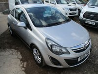 2012 VAUXHALL CORSA 1.2 SPORTIVE CDTI  95 BHP ALLOYS AIR CON IN SILVER £SOLD