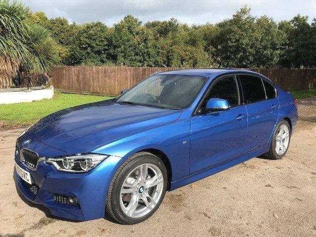 2017 BMW 3 SERIES 2.0 320d M Sport