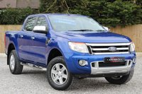 USED 2015 15 FORD RANGER 2.2 LIMITED 4X4 DCB TDCI 1d 148 BHP ** FINANCE AVAILABLE **