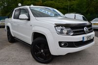 2013 VOLKSWAGEN AMAROK 2.0 DC TDI HIGHLINE 4MOTION NAVIGATION TECH PACK 5d AUTO 180 BHP £16999.00