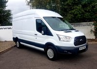 2015 FORD TRANSIT 350 2.2 RWD 125 BHP TREND L3 H3 P/V**70 VANS IN STOCK**  £11225.00