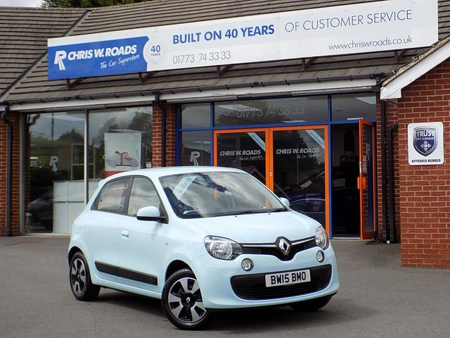 USED 2015 15 RENAULT TWINGO 1.0 SCE PLAY 5dr  * 1 Lady Owner + Only 15000 miles *