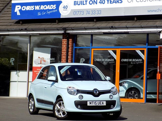USED 2015 15 RENAULT TWINGO 1.0 DYNAMIQUE SCE 5dr  ** 1 Lady Owner + F/R/S/H **