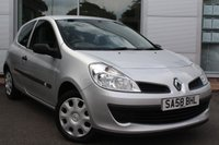 USED 2008 58 RENAULT CLIO 1.1 EXTREME 16V 3d 75 BHP LOCALLY OWNED LOW MILEAGE VEHICLE