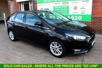 USED 2015 15 FORD FOCUS 1.0 ZETEC 5d 100 BHP +NEW SHAPE +LOW MILES +FULL SH