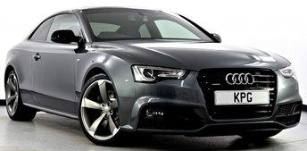 2016 AUDI A5 3.0 TDI Black Edition Plus S Tronic Quattro (s/s) 2dr £25995.00