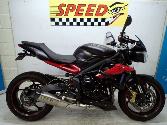 USED 2015 65 TRIUMPH STREET TRIPLE R ABS