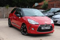 USED 2012 62 CITROEN DS3 1.6 DSTYLE PLUS 3d 120 BHP ***** FULL SERVICE HISTORY *****