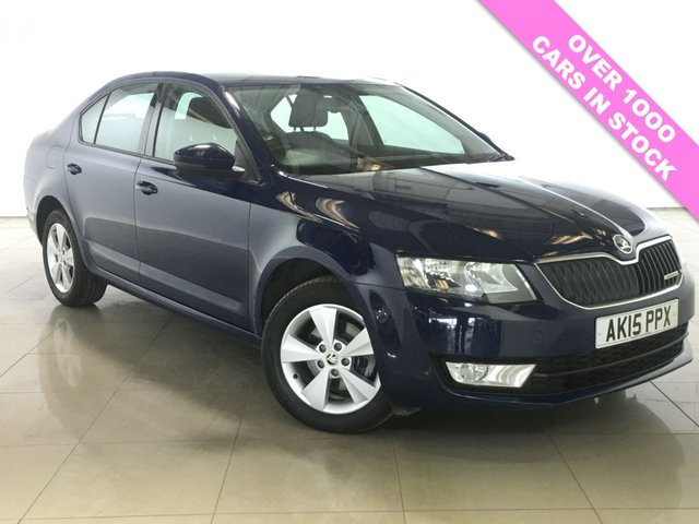 View our 2015 15 SKODA OCTAVIA 1.6 GREENLINE III TDI CR 5d 109 BHP