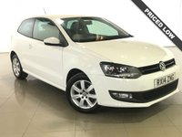 USED 2014 14 VOLKSWAGEN POLO 1.2 MATCH EDITION 3d 59 BHP Ideal First Car/Air Con