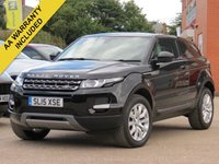 2015 LAND ROVER RANGE ROVER EVOQUE 2.2 ED4 PURE TECH 3d 150 BHP £18990.00