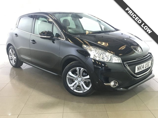 View our 2014 14 PEUGEOT 208 1.2 ALLURE 5d 82 BHP
