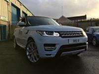 USED 2017 LAND ROVER RANGE ROVER SPORT 3.0 SD V6 HSE CommandShift 2 4X4 5dr (start/stop) Like New, But Costs much Less!