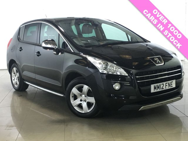 View our 2012 12 PEUGEOT 3008 2.0 HYBRID4 SR 5d AUTO 200 BHP