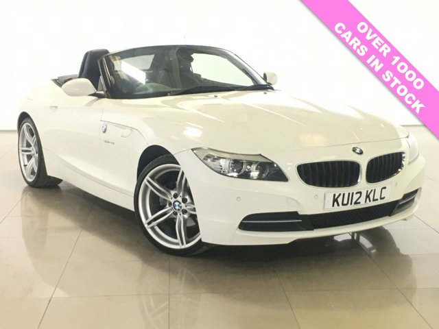 View our 2012 12 BMW Z4 2.0 Z4 SDRIVE20I ROADSTER 2d AUTO 181 BHP