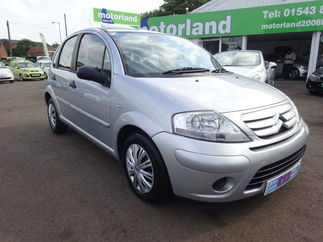 USED 2009 59 CITROEN C3 1.4 VTR 5d 73 BHP £0 DEPOSIT FINANCE DEALS AVAILABLE.....TEST DRIVE TODAY, CALL 01543 877320