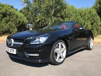 USED 2011 02 MERCEDES-BENZ SLK 1.8 SLK200 BLUEEFFICIENCY AMG SPORT ED125 2d AUTO 184 BHP AMG SPORT, AIR SCARF, ARROW RED LEATHER INTERIOR, NAVIGATION, BLUE TOOTH PHONE AND AUDIO, EXCEPTIONAL CAR INSIDE AND OUT!!!
