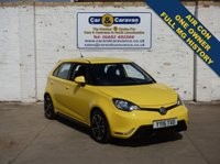USED 2015 15 MG 3 1.5 3 STYLE VTI-TECH 5d 106 BHP One Owner Full MG History A/C 0% Deposit Finance Available