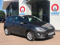 USED 2017 67 FORD FIESTA 1.1 ZETEC 3d 85 BHP 1 OWNER | BLUETOOTH | DAB | AC