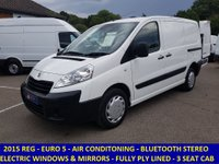 2015 PEUGEOT EXPERT PROFESSIONAL EURO 5 L1H1 WITH AIR CON & ELECTRIC PACK £6695.00