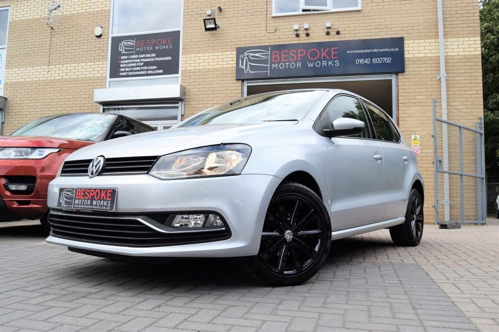 USED 2014 64 VOLKSWAGEN POLO 1.4 SE TDI BLUEMOTION 5 DOOR