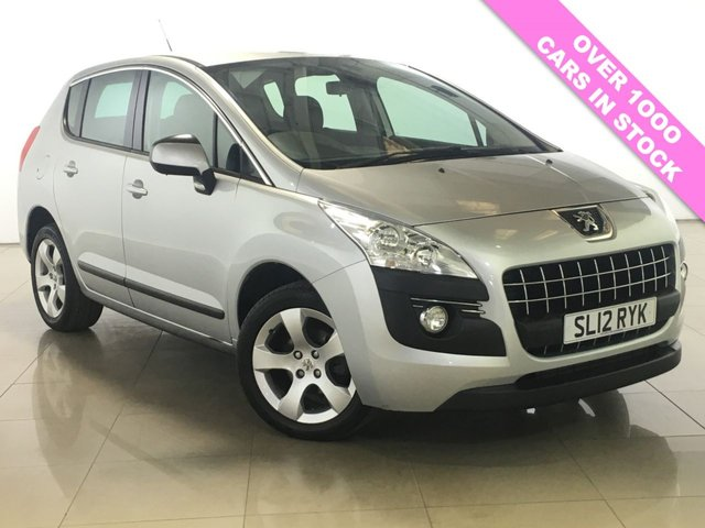 View our 2012 12 PEUGEOT 3008 1.6 ACTIVE HDI FAP 5d 112 BHP