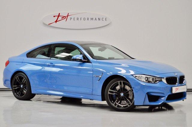 2015 15 BMW M4 3.0 M4 2d AUTO 426 BHP HUGE SPECIFICATION YAS MARINA BLUE