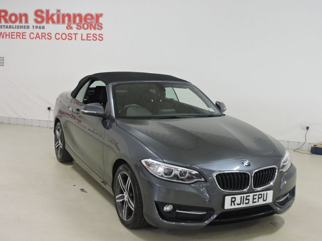 View our 2015 15 BMW 2 SERIES 2.0 220D SPORT 2d 188 BHP