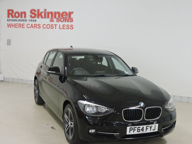 View our 2015 64 BMW 1 SERIES 1.6 116I SPORT 5d 135 BHP