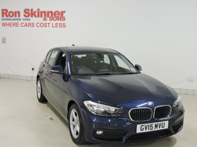 View our 2015 15 BMW 1 SERIES 1.5 116D ED PLUS 5d 114 BHP